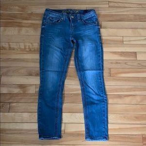 Women's Seven7 ankle skinny jeans